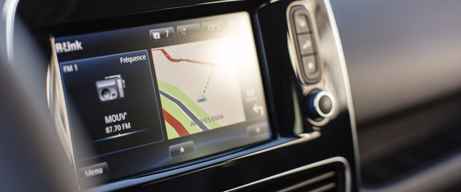 quot  touchscreen R Link Satellite Navigation