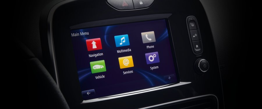 Touchscreen Sat Nav.