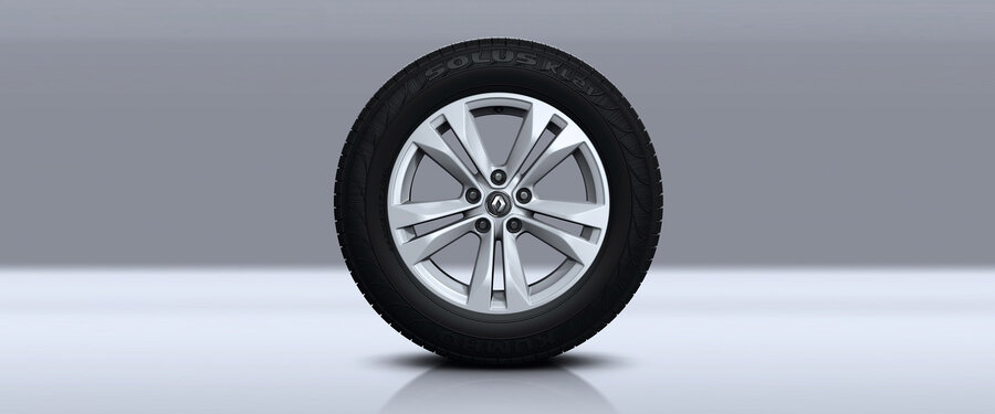 quot  Silver alloy wheels