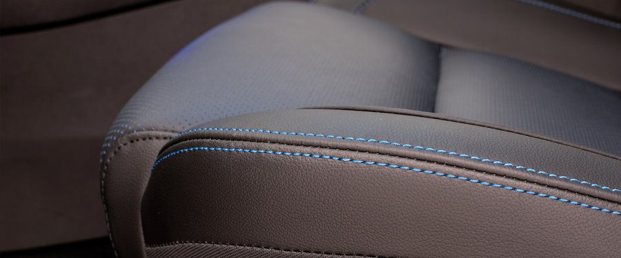 Perforated Leather Seats