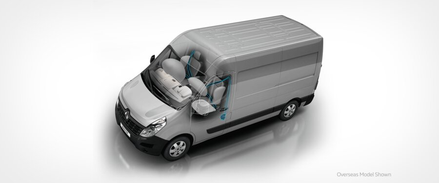 Driver and Passenger Front Airbags