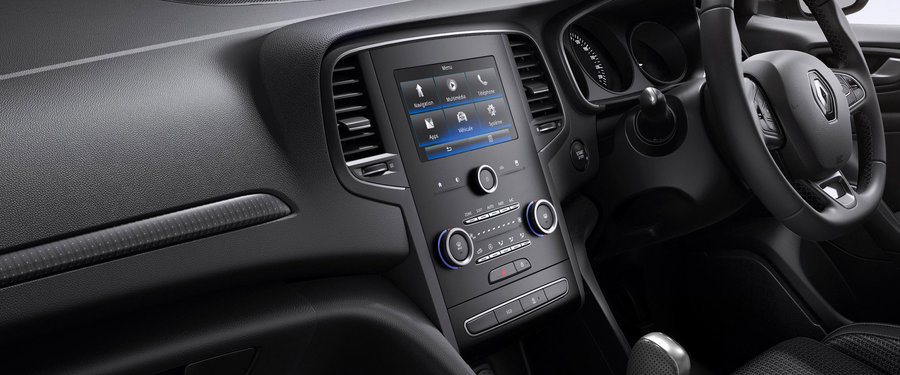 "Intuitive sat nav & multimedia with "" touchscreen"