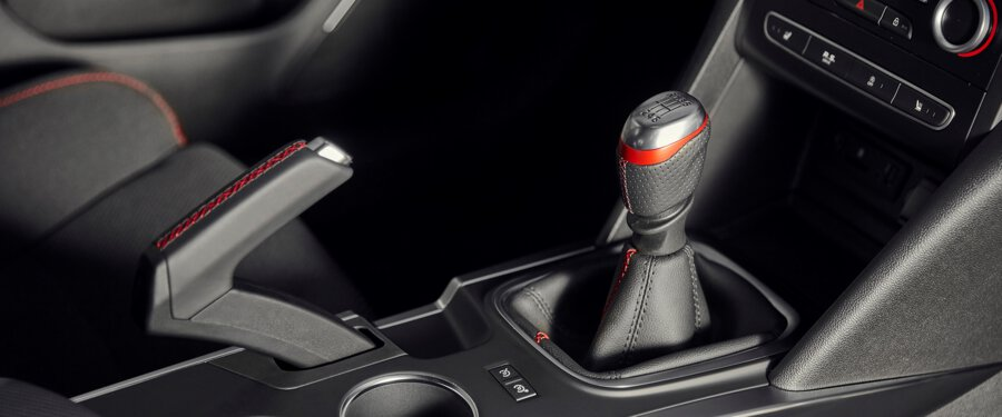 Renault Sport engineered manual gearbox