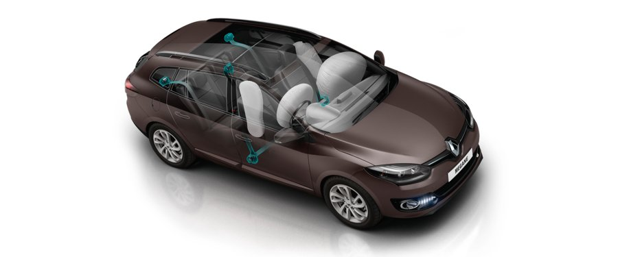 Driver and front passenger side airbags