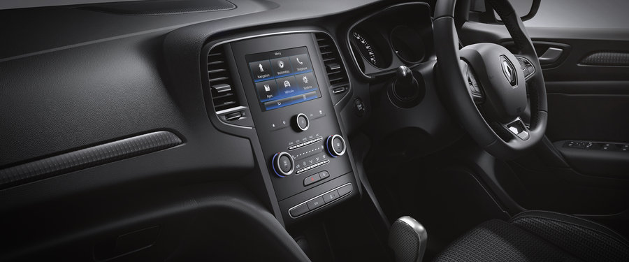 Intuitive sat nav  amp  multimedia with  quot  touchscreen