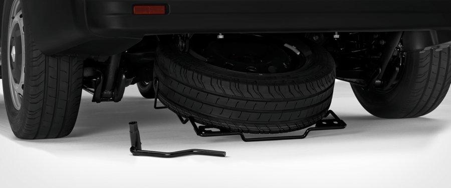 Under Body Spare Wheel